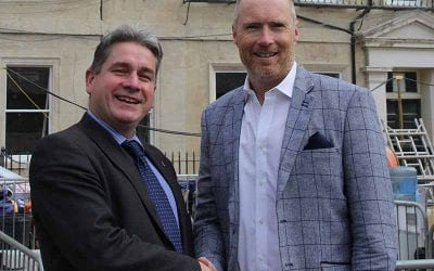 Bath Christmas Market And Hotel Indigo Bath Announce Three-Year Partnership